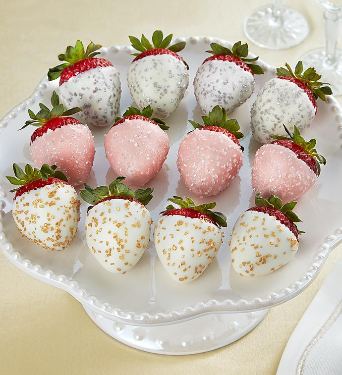 Champagne Chocolate Covered Strawberries