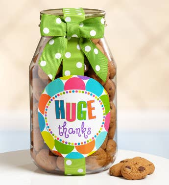HUGE Thanks! Chocolate Chip Cookie Jar
