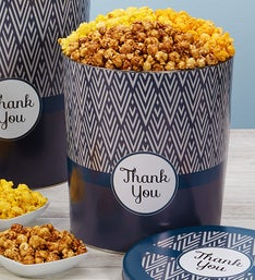 Popcorn Factory Simply Stated Thank You Tin
