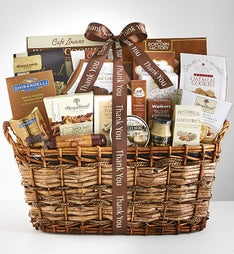An Extra Special Thank You Gourmet Gift Basket