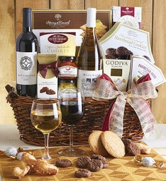 Sommelier's Choice Wine Gift Basket