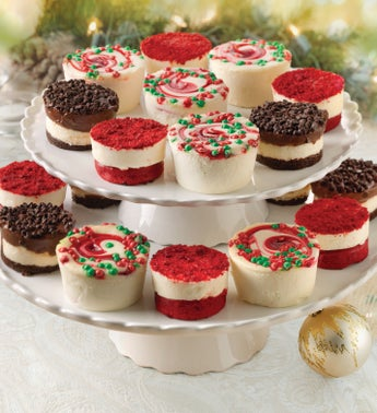 Juniors Mini Holiday Cheesecakes