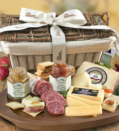 Epicurean Meat & Cheese Gift Basket