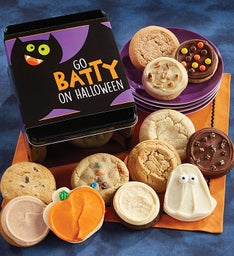 Go Batty on Halloween Tin