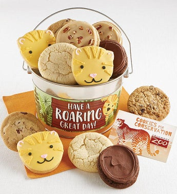Have a Roaring Great Day Cookie Pail