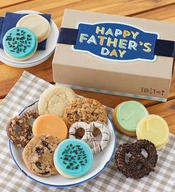 Fathers Day Cookies and Pretzels