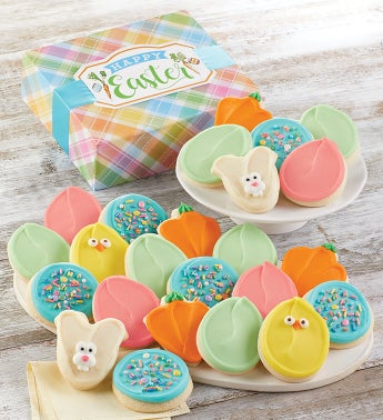 Easter Cut Out Cookie Gift Boxes