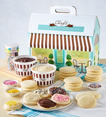 Cheryl39s Cut-Out Cookie Decorating Kit