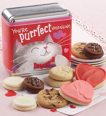 Youre Purrfect Valentines Day Mini Gift Tin