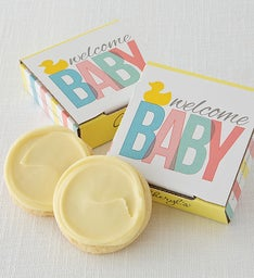 Welcome Baby Cookie Card