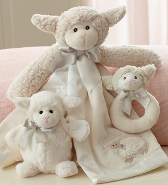 Lamby Snuggle Set by Bearington