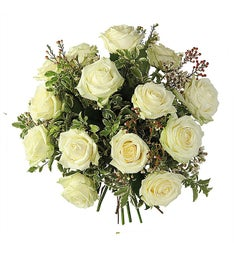 Baby White Rose Bouquet