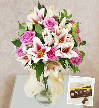 Roses Lilies  Chocolates