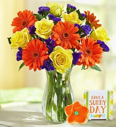 Sunny Day Bouquet + Free Vase