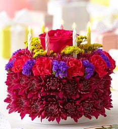 Birthday Flower Cake® Purple