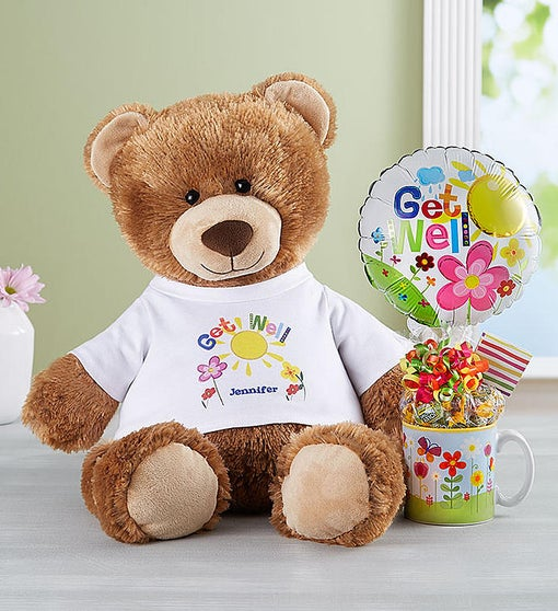 Personalized Get Well Tommy Teddy™