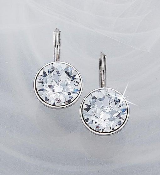 8ed949bc35f084 Swarovski® Mini Bella Earrings- Clear from 1-800-FLOWERS.COM
