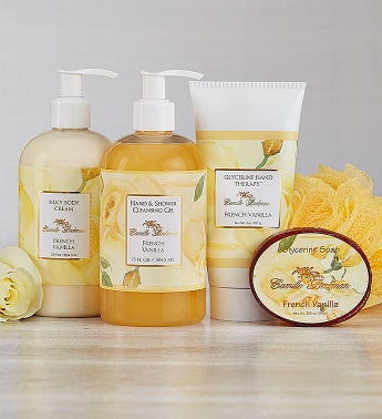 Camille Beckman® Spa French Vanilla Gift Set