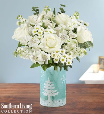 Winter Frost Bouquet by Southern Living