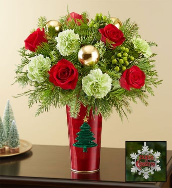 Colors of Christmas Bouquet
