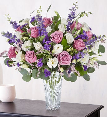 Marquis by Waterford Lavender Dreams Bouquet