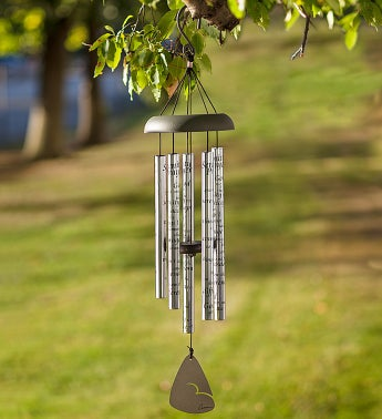 Serenity Prayer Wind Chime
