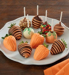 Pumpkin Patch™ Dipped Strawberries and Cake Pops