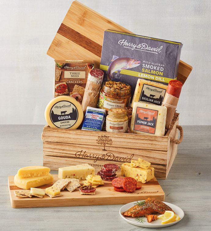 Artisan Meat and Cheese Gift