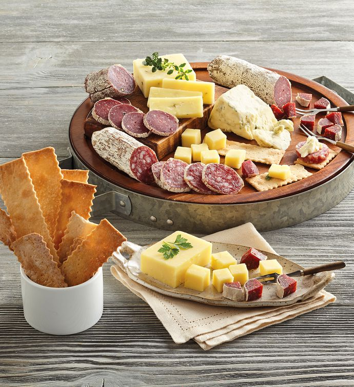 Organic Charcuterie and Cheese Collection