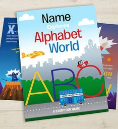 Personalized Kids Alphabet Book