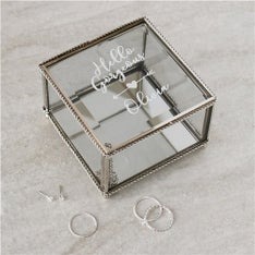 Personalized Hello Gorgeous Jewelry Box