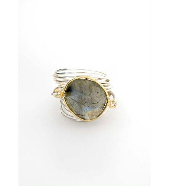The Torrey Ring - Labradorite