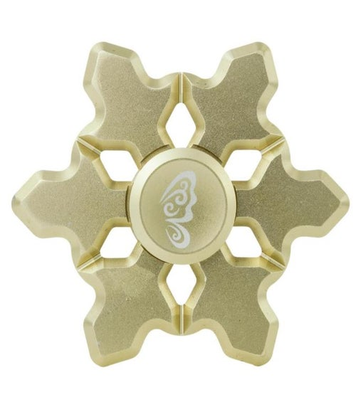 Snowflake Spinner Ornament