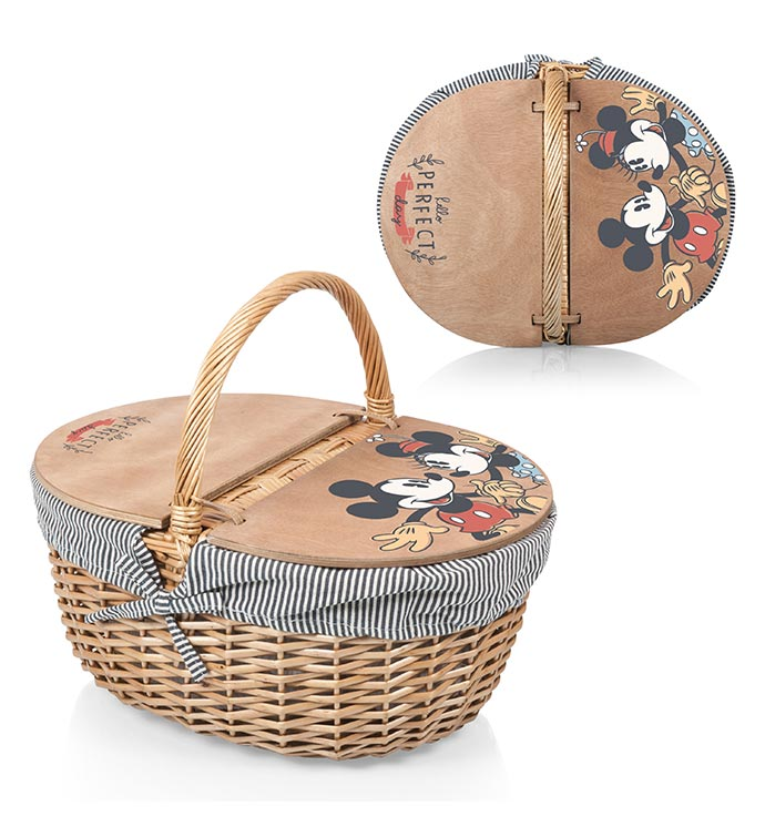 Mickey  Minnie- Country Basket