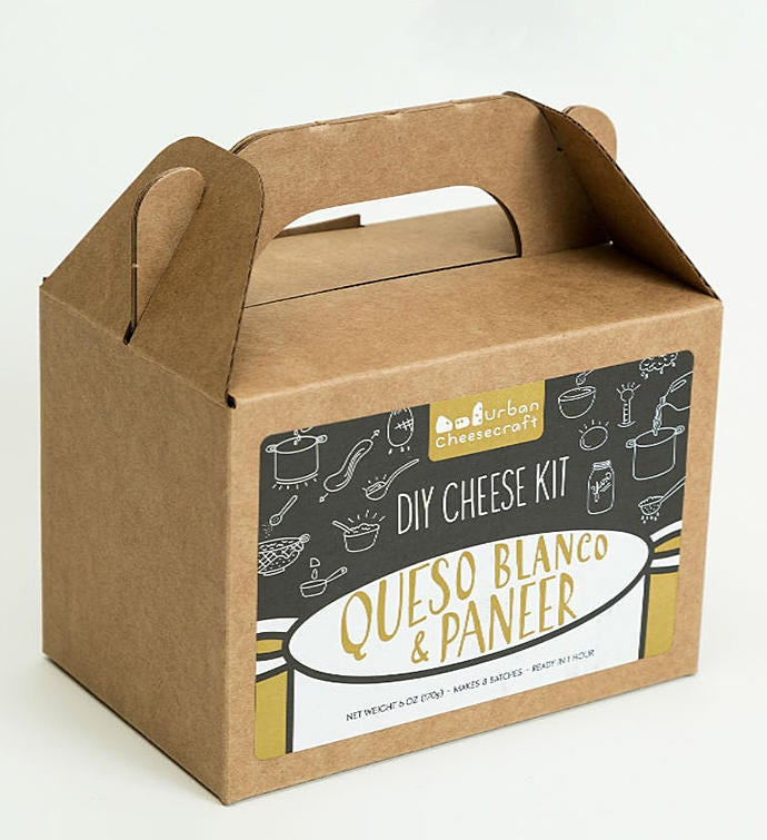Paneer  Queso Blanco Cheese Kit