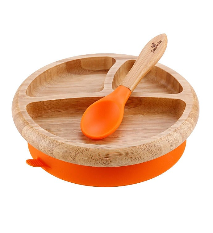 Avanchy Bamboo Baby Plate