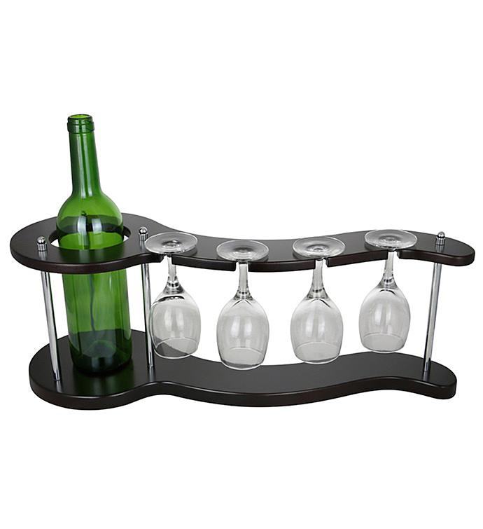 Curvy Wine Bottle Holder