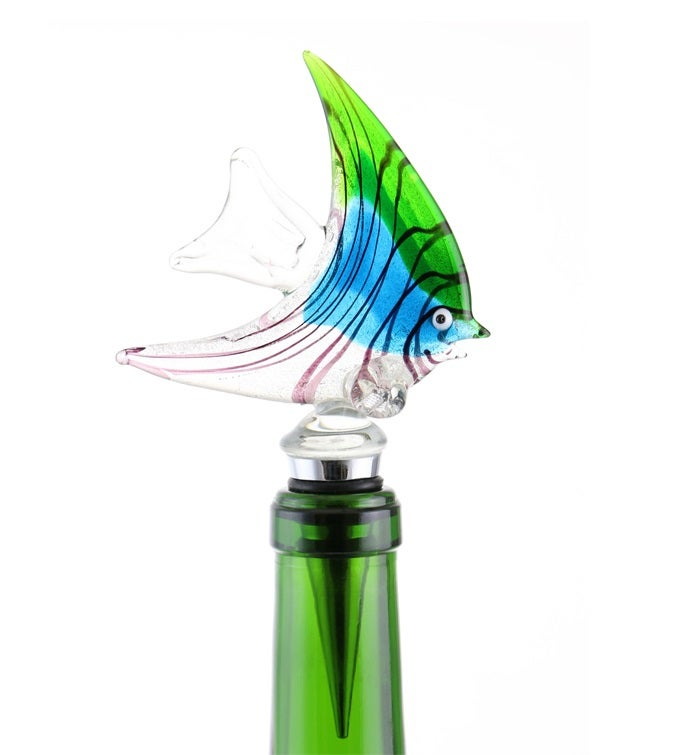 Angelfish Bottle Stopper