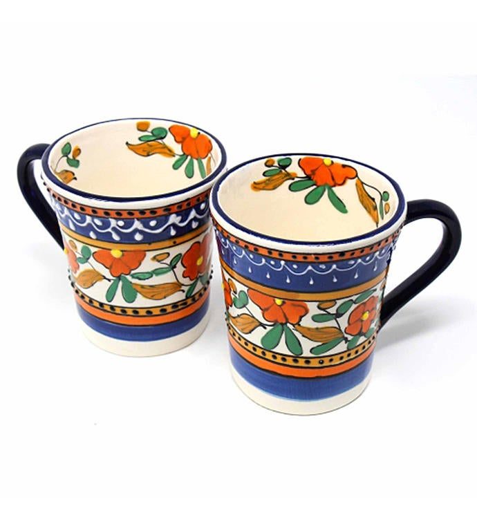 Hand-painted Mexican Talavera Mug