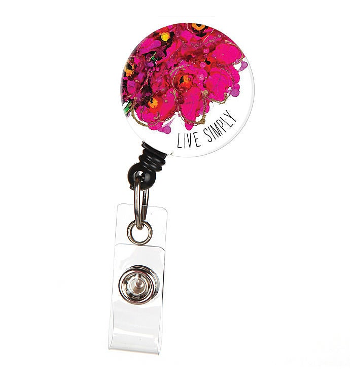Lovitude Live Simply Inspirational Id Badge Reel