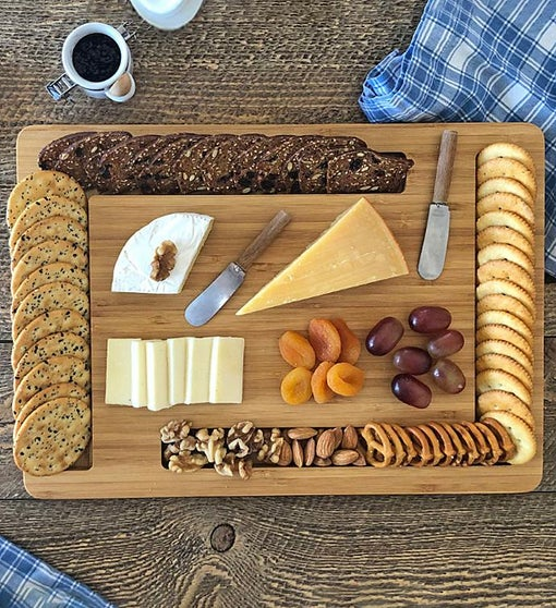 """Edge"" Cheese And Crackers Board"