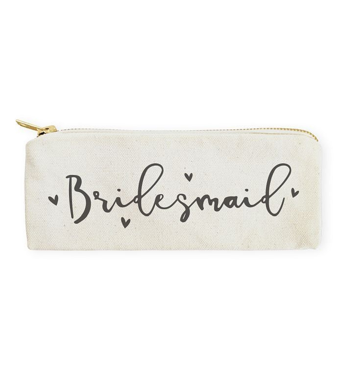 Wedding Pencil Case  Travel Pouch