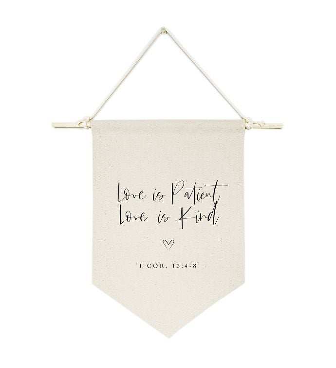 Bible Verse Canvas Wall Hang