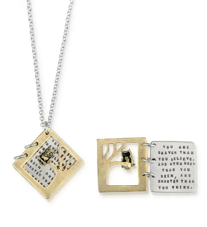 Braver Than You Believe Necklace