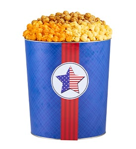Let Freedom Ring Popcorn Tins