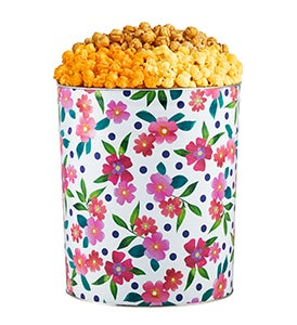 Colors of Spring Popcorn Tins