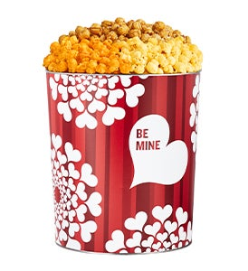 Eat Your Heart Out Popcorn Tins