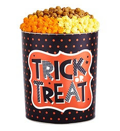 Trick or Treat Popcorn Tins