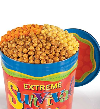 6 1/2 Gallon Bottomless Refillable Snack Club for College Students