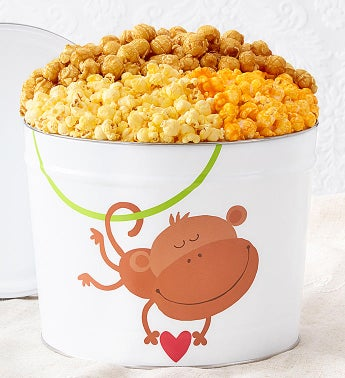 Monkey Love Popcorn Tins